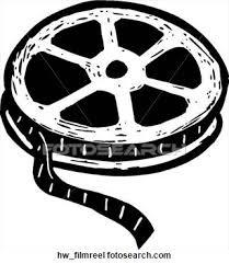 movie reel flat